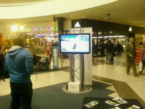 Mall activation 2